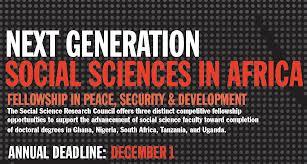 Next Gen Social Sciences for Africa