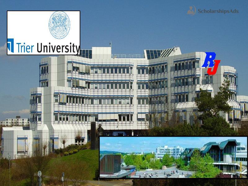 University of Trier Germany short term scholarships 2022